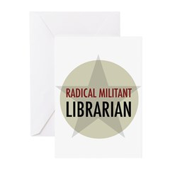 Radical Librarian Greeting Cards (Pk of 20)
