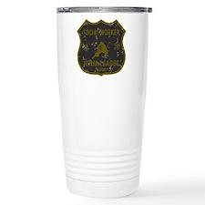 Social Worker Ninja League Travel Mug