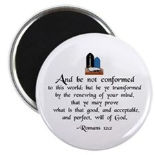 """Be Not Conformed"" 2.25"" Magnet (10 pack)"