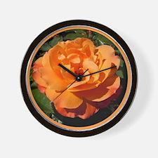 """English Rose """"Fellowship"""" Wall Clock"""