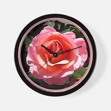 """English Rose """"Softly Softly"""" Wall Clock"""