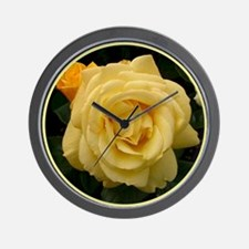 "English Rose ""Arthur Bell"" Wall Clock"