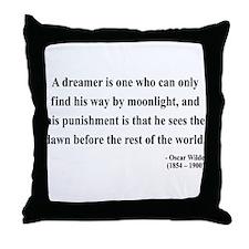 Oscar Wilde 6 Throw Pillow