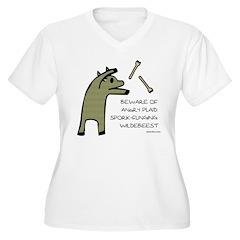 Plaid Wildebeest T-Shirt