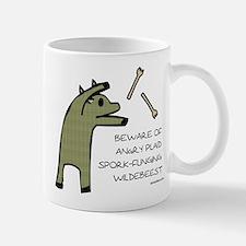 Plaid Wildebeest Mug