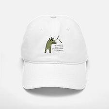 Plaid Wildebeest Baseball Baseball Cap
