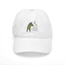 Plaid Wildebeest Baseball Cap