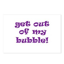 Get Out Of My Bubble Postcards (Package of 8)