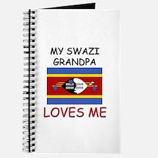 My Swazi Grandpa Loves Me Journal