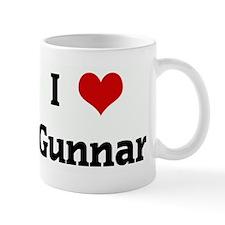 I Love Gunnar Mug