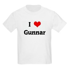 I Love Gunnar T-Shirt