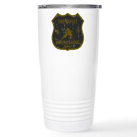 Therapist Ninja League Stainless Steel Travel Mug