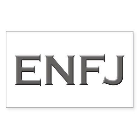 ENFJ Rectangle Sticker