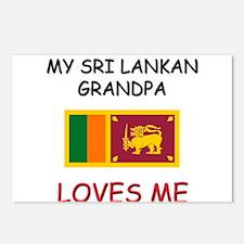 My Sri Lankan Grandpa Loves Me Postcards (Package