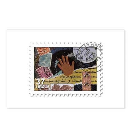 Faux Postage Postcards (Package of 8)