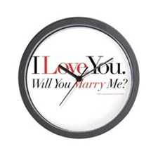 Marry Me! Wall Clock