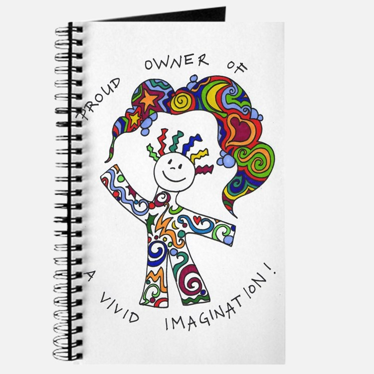 Cute Vivid imagination Journal