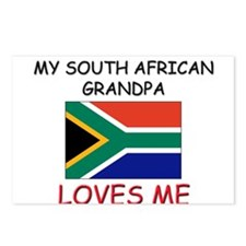My South African Grandpa Loves Me Postcards (Packa