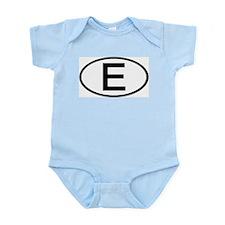 Spain - E - Oval Infant Creeper