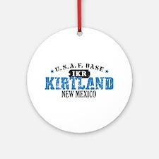 Kirtland Air Force Base Ornament (Round)