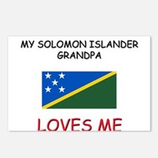 My Solomon Islander Grandpa Loves Me Postcards (Pa