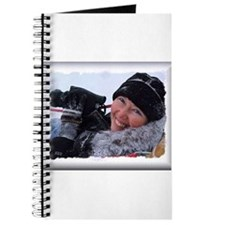 Donna on sled Journal