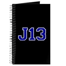 """""""J13"""" (blue) Journal"""