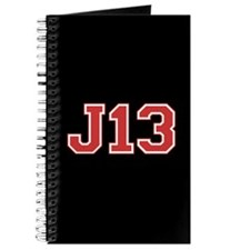 """""""J13"""" (red) Journal"""