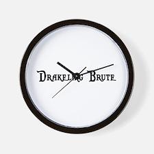 Drakeling Brute Wall Clock
