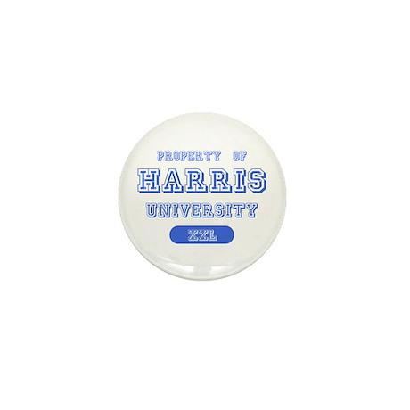 Property of Harris University Mini Button
