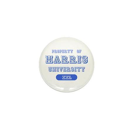 Property of Harris University Mini Button (10 pack