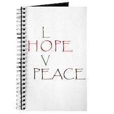Love Hope Peace Journal