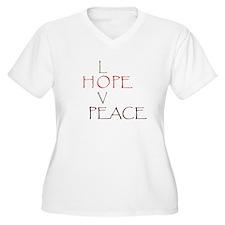Love Hope Peace T-Shirt
