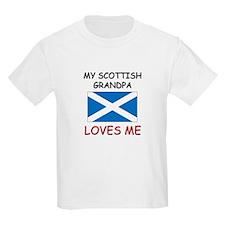 My Scottish Grandpa Loves Me T-Shirt