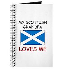 My Scottish Grandpa Loves Me Journal