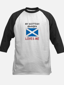 My Scottish Grandpa Loves Me Tee