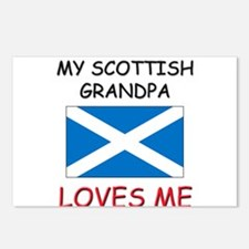 My Scottish Grandpa Loves Me Postcards (Package of