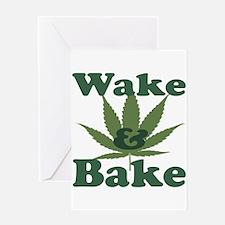 Wake and Bake Greeting Card