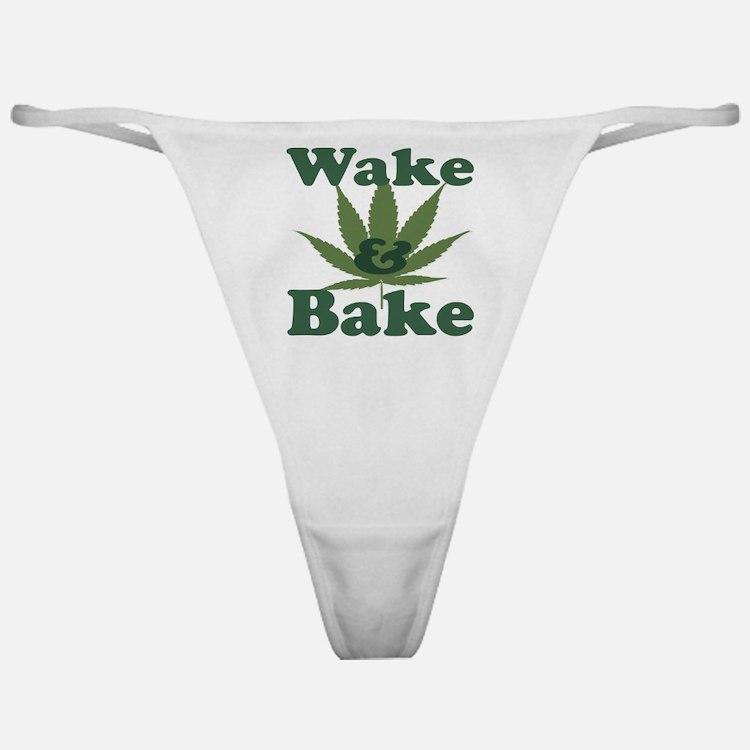 Wake and Bake Classic Thong