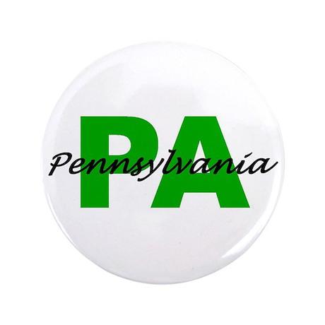"""PA- PENNSYLVANIA 3.5"""" Button"""