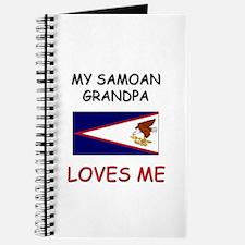 My Samoan Grandpa Loves Me Journal
