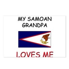 My Samoan Grandpa Loves Me Postcards (Package of 8