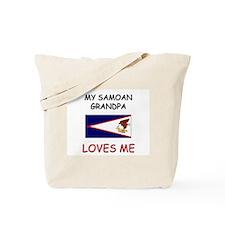 My Samoan Grandpa Loves Me Tote Bag
