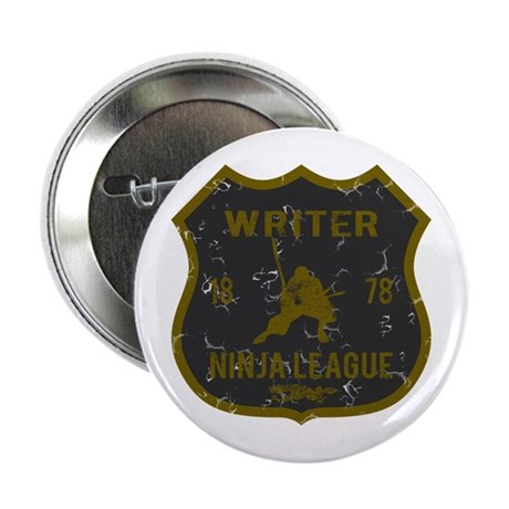 "Writer Ninja League 2.25"" Button"