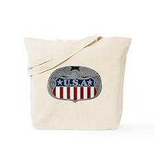 Victory and Liberty Eagle Tote Bag