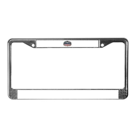 Victory and Liberty Eagle License Plate Frame