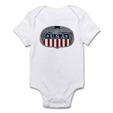 Victory and Liberty Eagle Infant Bodysuit