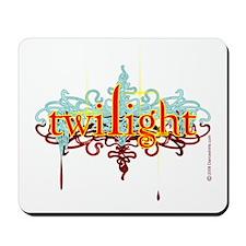 Twilight Blood Crest Mousepad