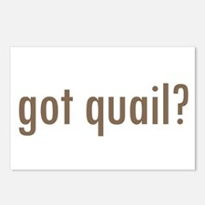 Got Quail? Postcards (Package of 8)
