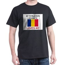 My Romanian Grandpa Loves Me T-Shirt